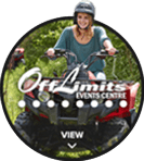 Off Limits Event Centre hover logo