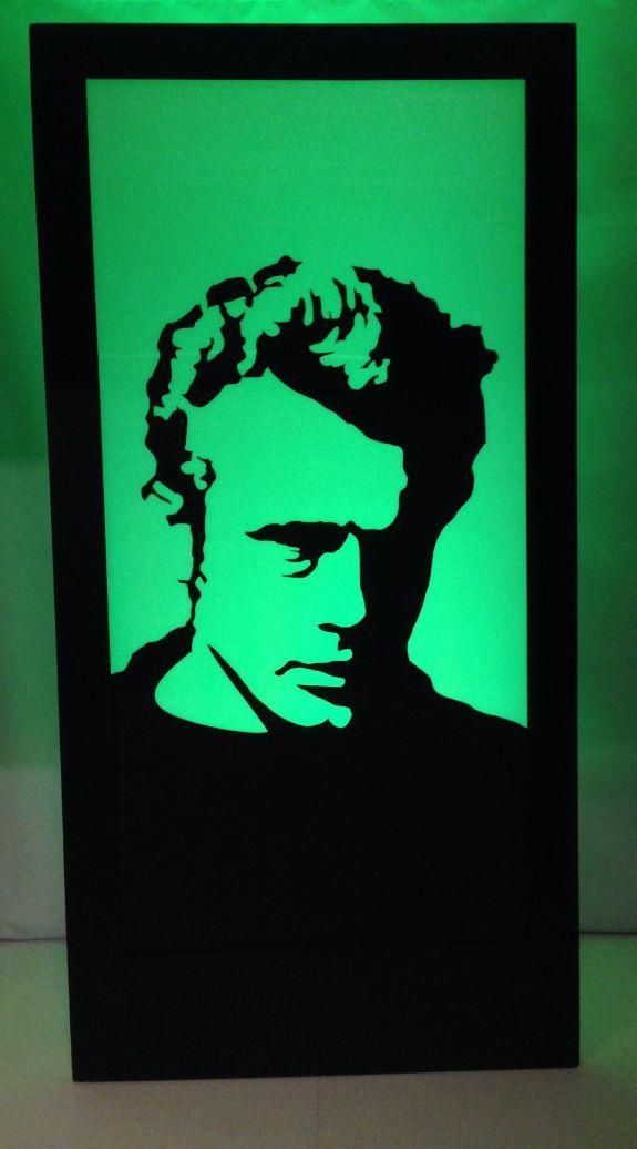James Dean Silhouette Panel