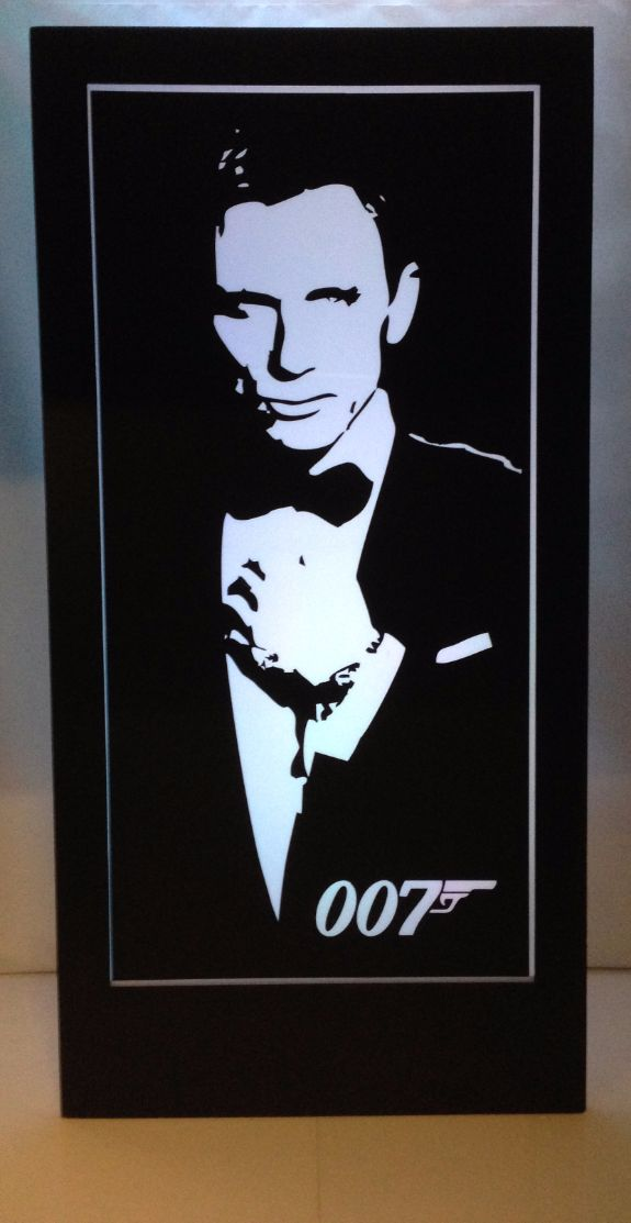 James Bond 007 Silhouette Panel 2