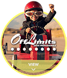 Off Limits® Event Professionals circle hover logo