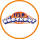 Its a Knockout® circle logo