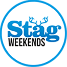 Stag Weekends circle logo