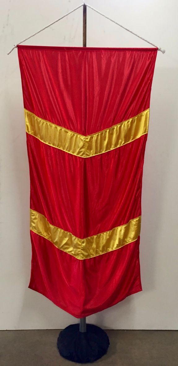 Free Standing Medieval Banner 1