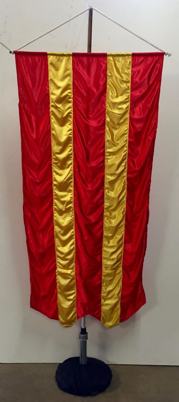 Free Standing Medieval Banner 3