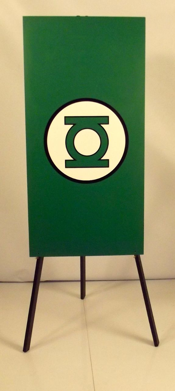 Green lantern Foamex Flag