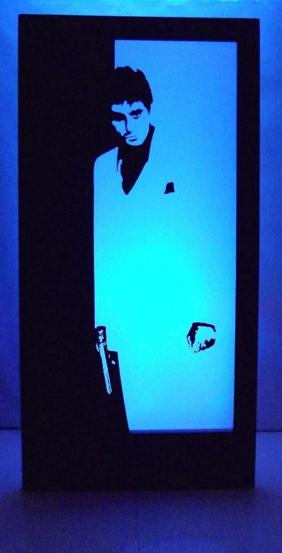 Scarface Silhouette Panel