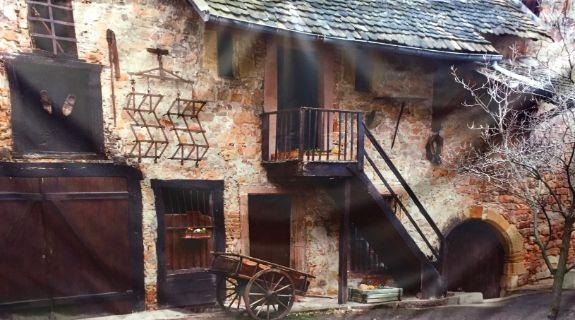Medieval Street 3m x 6m Backdrop