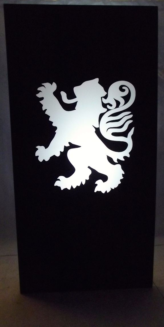 Scottish Lion Silhouette