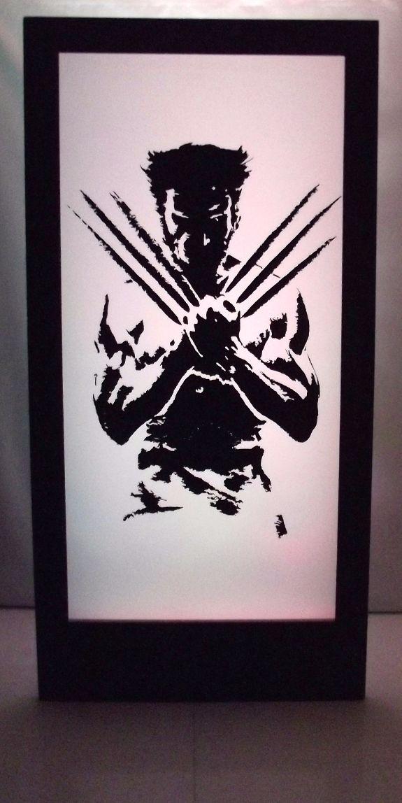 Wolverine Silhouette Panel
